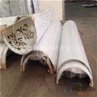 大厅圆柱铝板 圆弧包柱铝单板厚度1