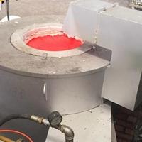天燃气熔铝炉最新价格 液化气熔铝炉厂家
