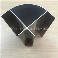 江阴厂家生产电泳香槟净化铝型材外圆柱(弧)