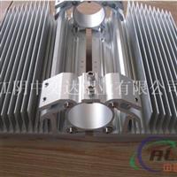 华东地区高倍齿大截面散热器铝型材