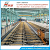 Aluminium Extrusion Profile Belt System Cooling Table