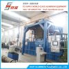 aluminium extrusion air and water profile quenching system