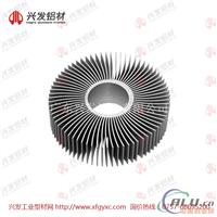 广东兴发铝业led散热器铝型材