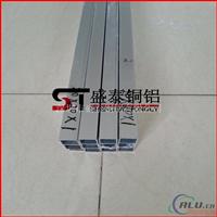 氧化银色铝方管供应 5052铝方管量大优惠