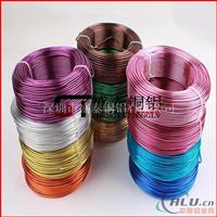 1060彩色氧化铝线 手工艺铝线 多色氧化