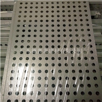 传祺4S店展厅白色装饰板-金属银灰色外墙板