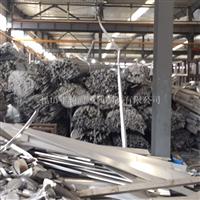 本厂高价采购6系铝型材和铝棒头尾料