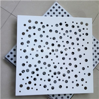 艺术镂空铝单板 氟碳冲孔幕墙铝单板
