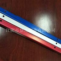 6063-T5定制深加工抽屉拉手铝型材