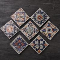 印地安小花砖 地板砖木纹砖切割加工