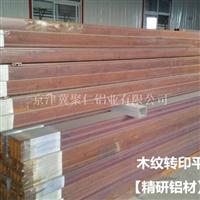 木紋轉印平開門鋁型材