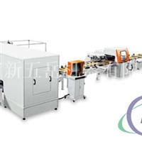 铝模板锯冲自动生产线