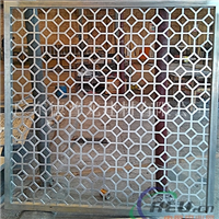 工裝外墻鋁花格幕墻裝飾材料鋁窗花廠家