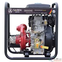 3寸柴油自吸水泵(铁泵)(三进三出)