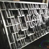 上海型材鋁窗花復古木紋色 廠家指導價格