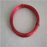 半硬饰品铝线 氧化6063彩色铝线1.0mm