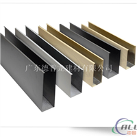 供应木纹、型材铝方通,木纹U型铝方通吊顶