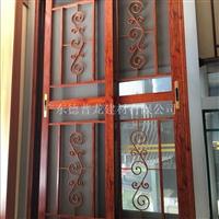 古典茶楼铝窗花装饰