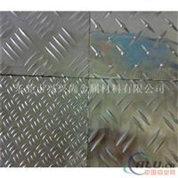 5052花纹铝板 五条筋防滑铝板