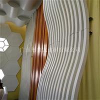 定制加工各种弧形,异形铝方通吊顶