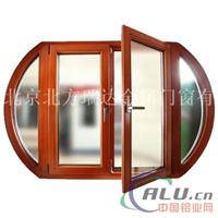 顺义铝包木门窗 铝木复合门窗 实木窗