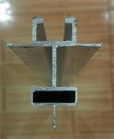 净化铝型材中字暗吊梁