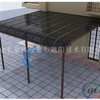 阳光棚定制窗户挡耐力板雨篷轻型钢结构