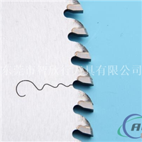 切1.0以下的材料用什么规格的铝型材锯片