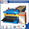 Glazed Roof Tile Metal Sheet Roll Forming Making Machine
