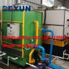 Free maintenance evaporative air cooling water chiller machine