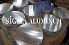Round Aluminium Circle Plate 3003 for Deep Drawing and Anodizing