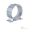 Aluminium extruded profiles for heat  sink
