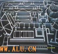 供应大直径铝棒\铝管及大断面工业型材
