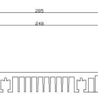 交通轨道型材/散热器/隧道灯具型材