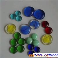 彩色玻璃珠工艺反光半面玻璃珠砂