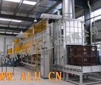 T-6连续式铝合金轮毂热处理设备