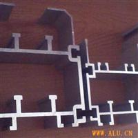工业用铝、展览型材,轨道型材。