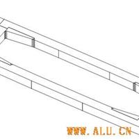铝合金扁锭结晶器