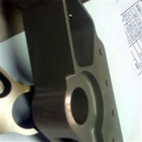 提供7075缎铝航空件铬酸阳极氧化