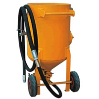 供应加压移动式喷砂机 喷砂罐 喷砂房