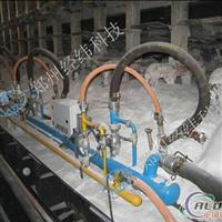 铝电解槽烟气培烧装置