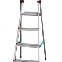 供应四阶高强铝合金家用梯