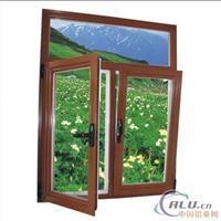 供应铝合金窗,各种窗型,表面喷涂,氧化,电镀,木纹。