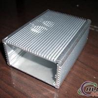 供应铝挤压加工铝方筒电源盒铝外壳