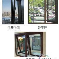 GR58隔热节能平开窗铝型材