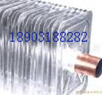 供应铜管铝片铜铝翅片管散热器及铝片