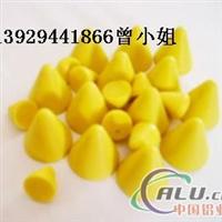 黄色细磨塑胶研磨石