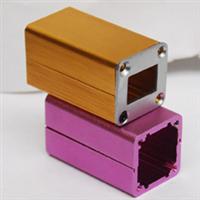 铝挤型材加工铝合金电源盒外壳氧化