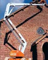 铝制曲臂式升降机,曲臂空中作业平台车
