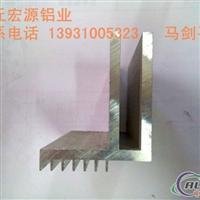 LED边框通信机房走线架隔热断桥幕墙铝管散热器各种铝型材